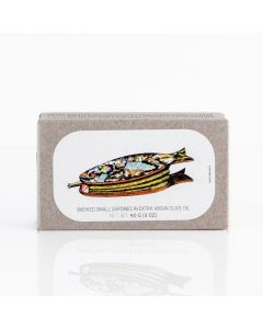 Smoked Small Sardines in Extra Olive Oil